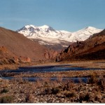 Río Grande en Bardas Blancas