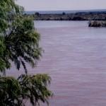 Rio Colorado en Pasarela Medanito