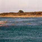 Río Colorado en Pichi Mahuida, proximo a obra de Toma Acueducto La Pampa