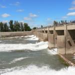 F74 - Salto andersen, agua arriba rio colorado la adela