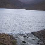 06 - Foto Carrilauquen -  Descarga de la laguna
