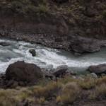 08 - Foto Carrilauquen -  Descarga de la laguna